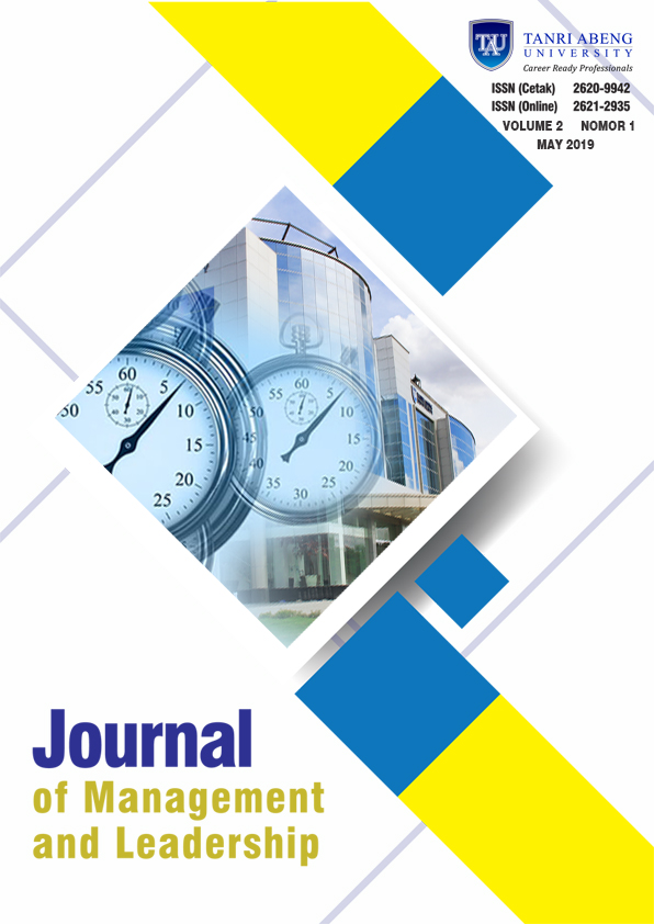 Journal of Management and Leadership